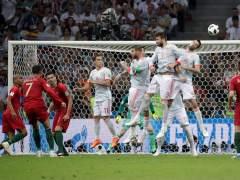 España choca con Cristiano y empata ante Portugal en su debut en el Mundial
