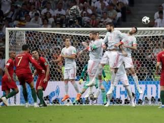 Gol de Cristiano