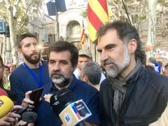 """Los 'Jordis' lamentan en una carta la """"lamentable"""" situación creada por la desunión del independentismo"""