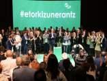 Ortuzar en la presentación de los candidatos del PNV en Gipuzkoa