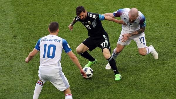 Argentina vs Islandia