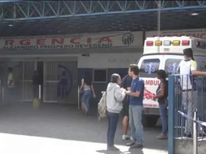 Estampida en Caracas