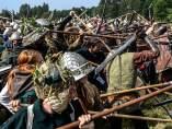 Recreación de la Batalla de los Cinco Ejércitos