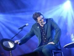 """Joaquín Sabina se queda """"mudo"""" a mitad de concierto"""
