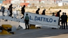 Así ha sido el desembarco del Dattilo en Valencia