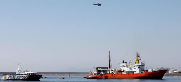 Gibraltar retira los permisos al Aquarius porque