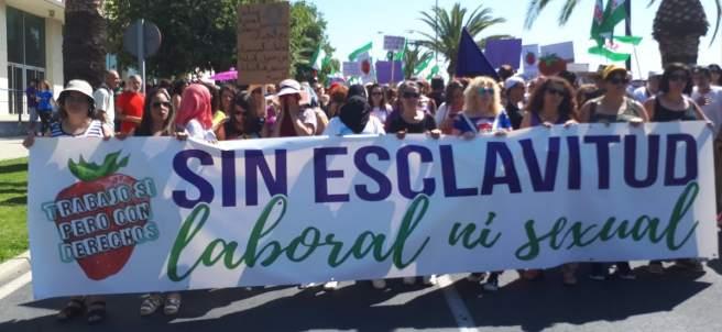 Manifestación en Huelva