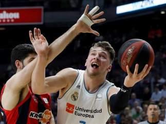 Luka Doncic, en el Real Madrid - Baskonia, final de la ACB 2017/2018.