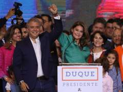 El conservador Iván Duque es elegido presidente de Colombia
