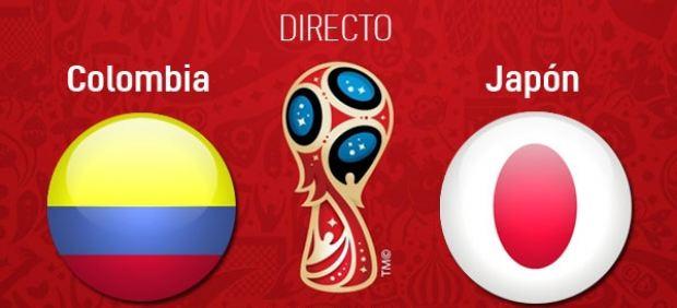 Colombia vs Japón en directo: Mundial de Rusia 2018