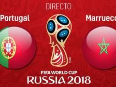 EN DIRECTO: Cristiano adelanta a Portugal ante Marruecos