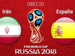 EN DIRECTO: Lucas Vázquez y Carvajal, titulares en España ante Irán
