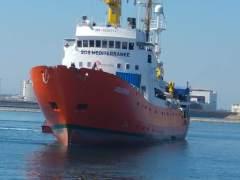 El Aquarius busca de nuevo puerto para desembarcar a 11 rescatados