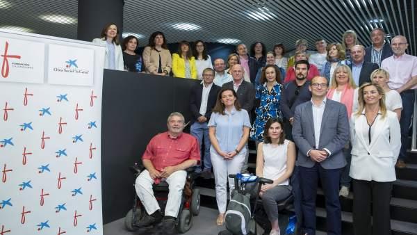 Acto de Obra Social La Caixa y Fundación Caja Navarra.