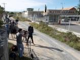Repercusión mediática ante la entrada de Iñaki Urdangarín en la cárcel de Brieva (Ávila).