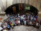 Recepción de las becas Ivace en el Palau de la Generalitat