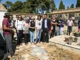 Comienzan los trabajos de exhumación en la fosa 94 de Paterna