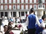 Bar, bares, gente, personas, persona, hostelería, turismo en Madrid, turistas