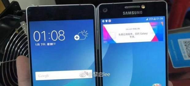 Smartphone con doble pantalla de Samsung