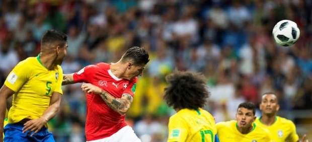 Queja formal de Brasil a la FIFA por no usar el VAR en el gol de Suiza