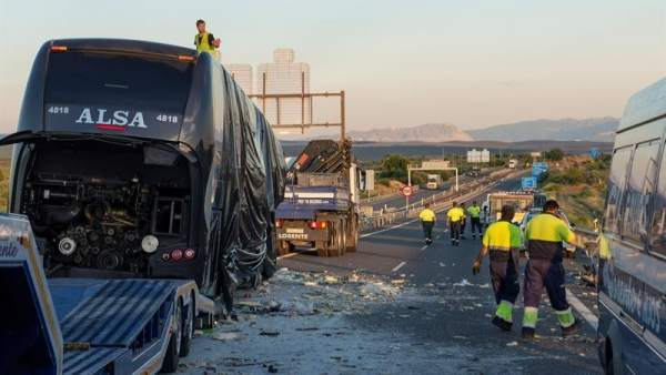 Accidente de autobús