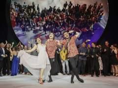 La danza de Abreu y las máscaras de 'Solitudes' triunfan en los Max