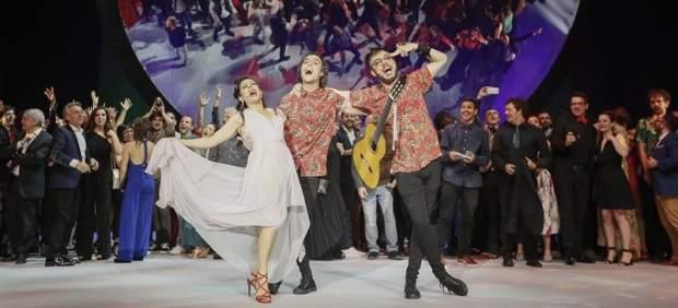 La danza de Daniel Abreu y las máscaras de 'Solitudes' triunfan en los Max