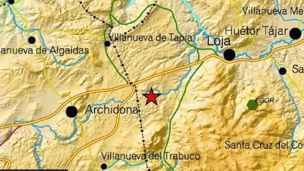 Terremoto de 3,3 en Granada