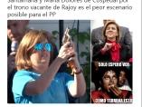 Memes de Soraya Saenz de Santamaría y María Dolores de Cospedal