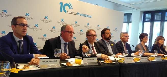 CaixaProinfància atiende a más de 85.000 menores vulnerables en Barcelona.