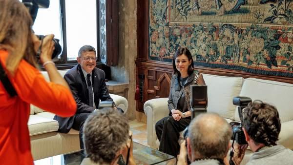 Reunión entre Puig y Montón