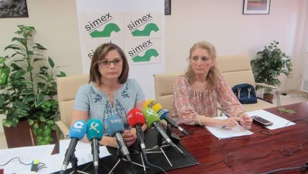 Responsables del Sindicato Médico de Extremadura