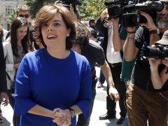 Sáenz de Santamaría presenta su candidatura para presidir el PP