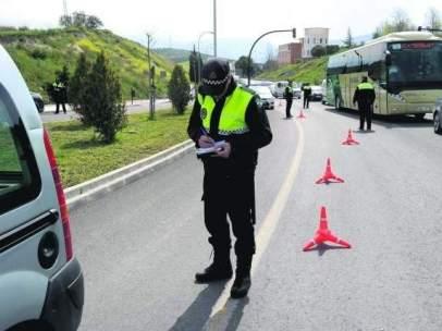 Un conductor pierde 12 puntos del carné tras ser denunciado en Vigo dos veces el mismo día por conducir drogado