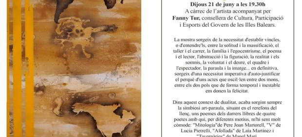 Octubre Centre de Cultura Contemporània acoge la exposición 'Bipolaritat' de Tomeu Coll hasta el ...
