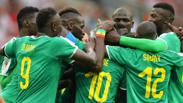 Gol de Senegal