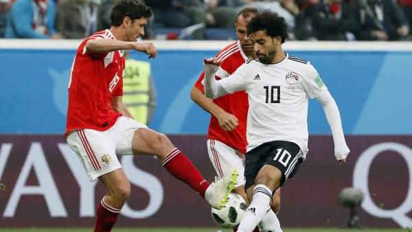 Salah en el Egipto - Rusia
