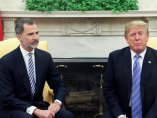 Felipe con Trump