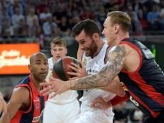Rudy Fernández, MVP del partido decisivo de la final de la ACB entre Baskonia y Real Madrid.