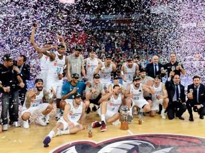El Real Madrid, campeón de la ACB