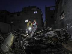 Israel bombardea 11 puestos militares de Hamás en Gaza