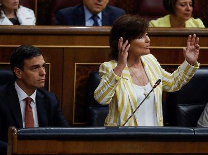 Calvo interviene en el Congreso