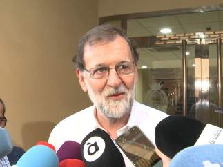 Rajoy, en Santa Pola.