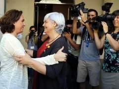 """Colau: """"No entiendo qué alma del PSC se puede plantear volver a flanquear políticas de derechas en Badalona"""""""