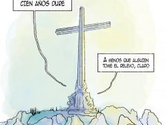 Valle de los Caídos, viñeta de Piorno