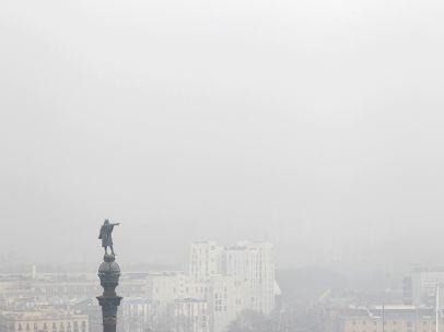 Polución en Barcelona