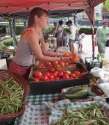 Mercado ecológico de Camargo