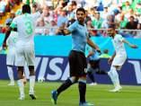 Luis Suárez ante Arabia Saudí