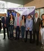 Autoridades en el I Encuentro Mujer y Motor