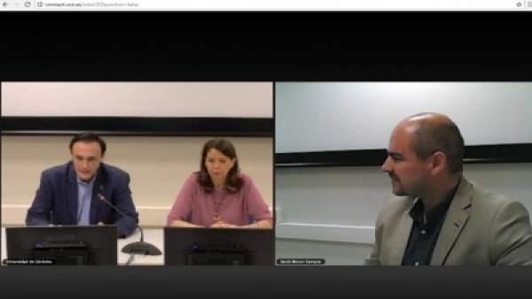 El rector de la Universidad de Córdoba inaugura el congreso virtual